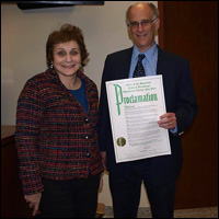 March 2014 Town of Greenburgh Proclamation from Paul Feiner