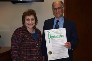Town of Greenburgh Official Proclamation