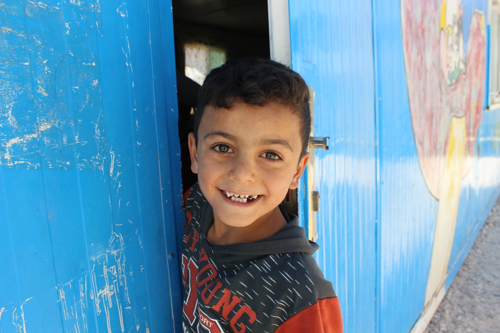 The Azraq School - The Syria Fund's flagship education program provides daily remedial education and enrichment programming to 110+ children in rural South Azraq, Jordan. LEARN MORE