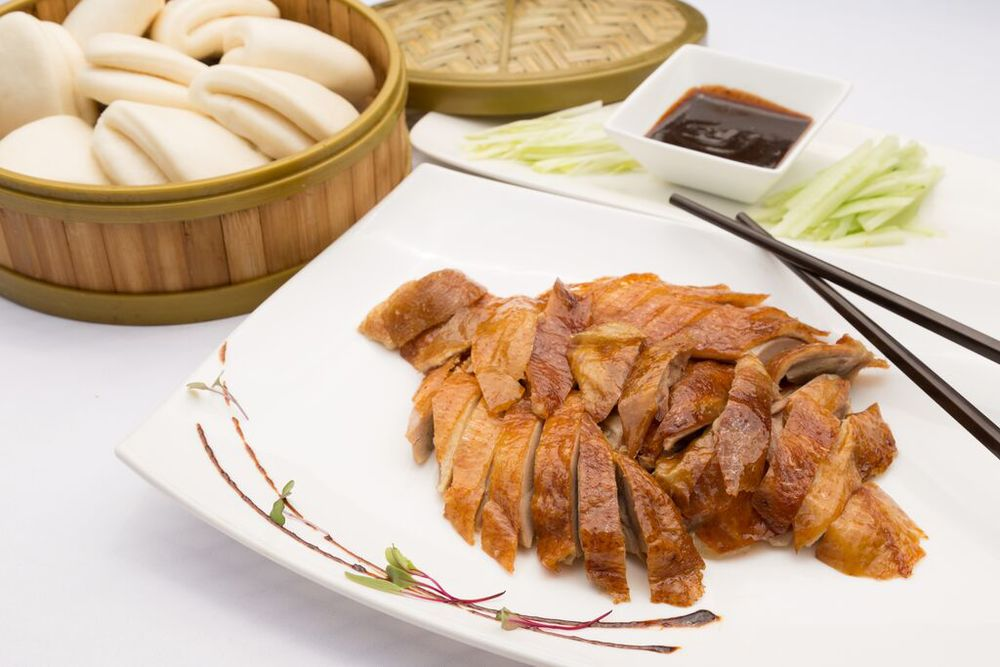 Classic Peking Duck With Bao Or Pancakes