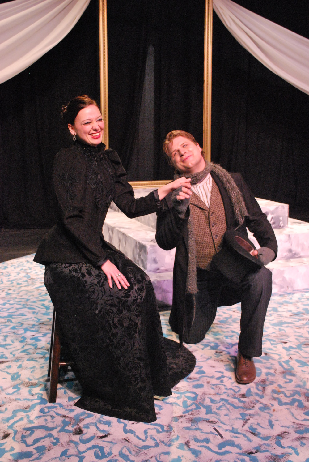 Jennifer Wells and Jeffrey Burleson Twelfth Night 2010
