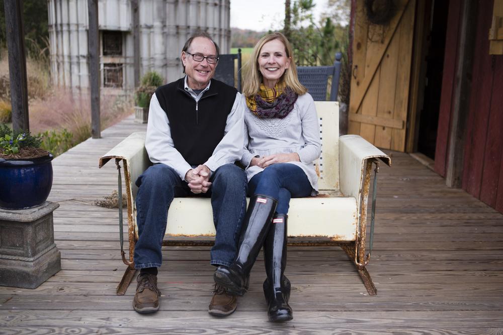 Bob and Alethea Segal at Hauser Creek Farm