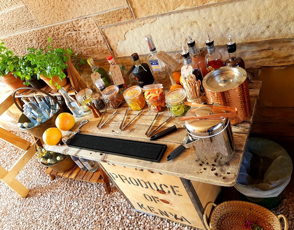 Bubbles and Botanicals package £795 - Our gin & Prosecco van available for hire
