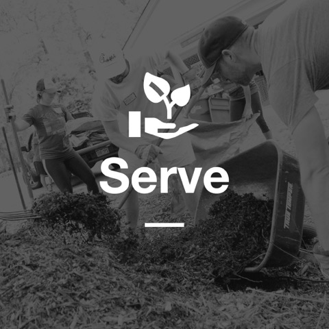 GATHER TOGETHER TO SERVE OUR COMMUNITY AND HELP THOSE IN NEED.