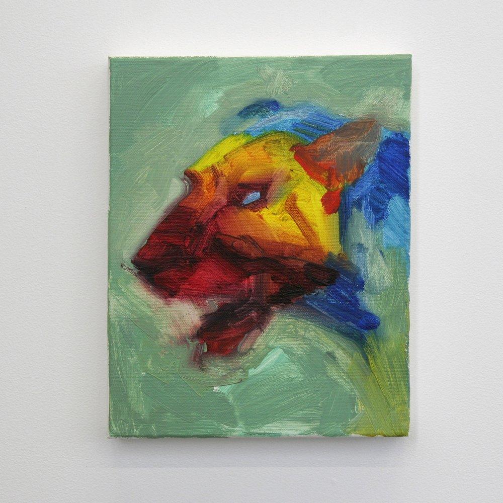 oil on canvas  10'' x 8''  2015