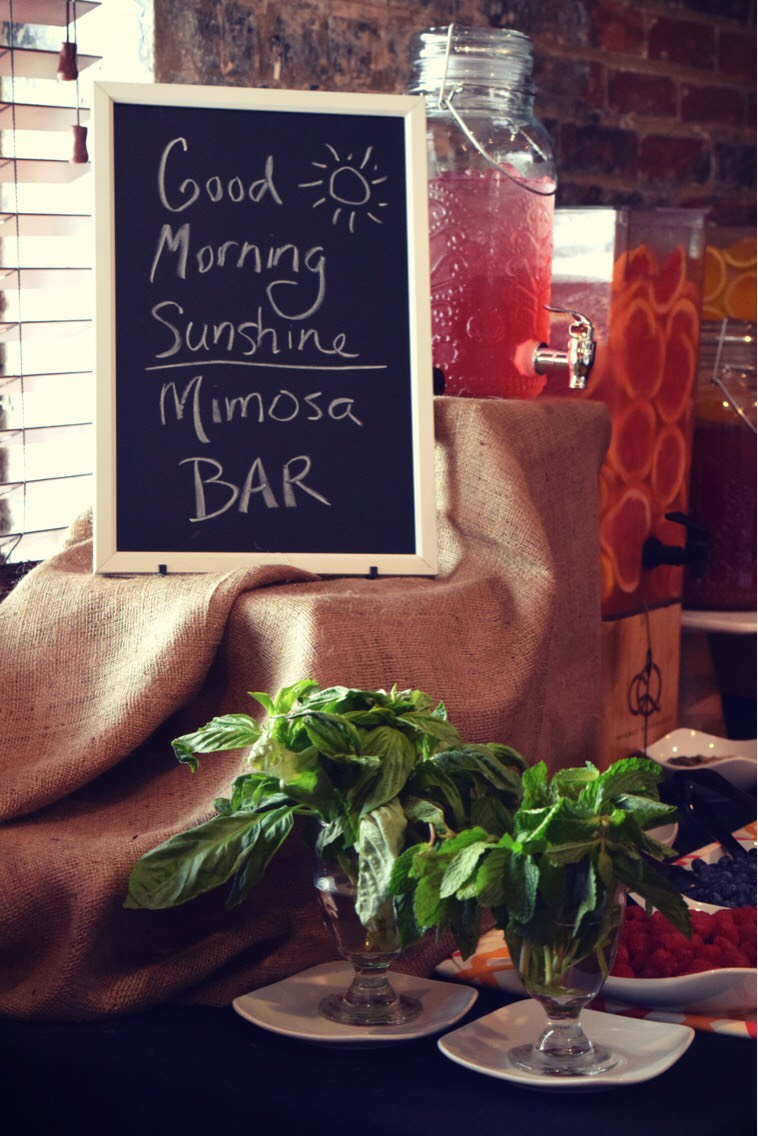 Have you heard about our brunch drink buffet that we do at the end of every month...? Well, so you aren't one of the few that continue to miss out, our drink buffet includes a mimosa and bloody mary bar as well as coffee and other brunch related drinks.