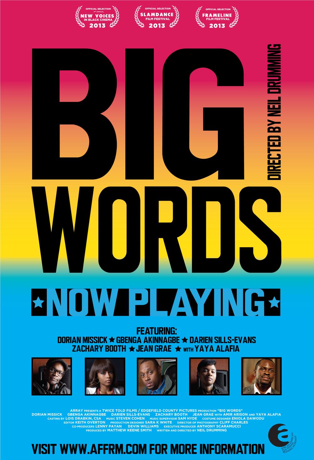 BIG WORDS