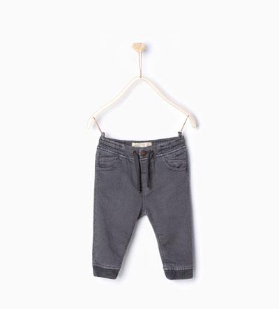 Grey Joggers:  Zara Kids