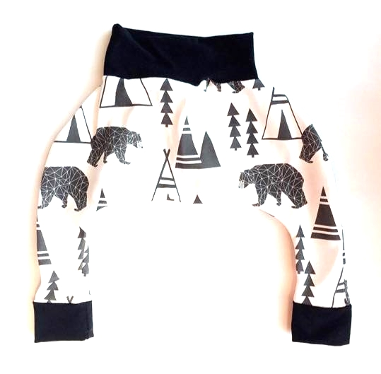 The Little Moore Shop Polar Bear Harem Pants