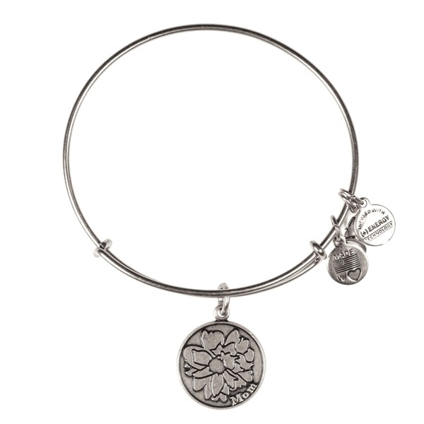 Alex and Ani Mom Bangle in Silver