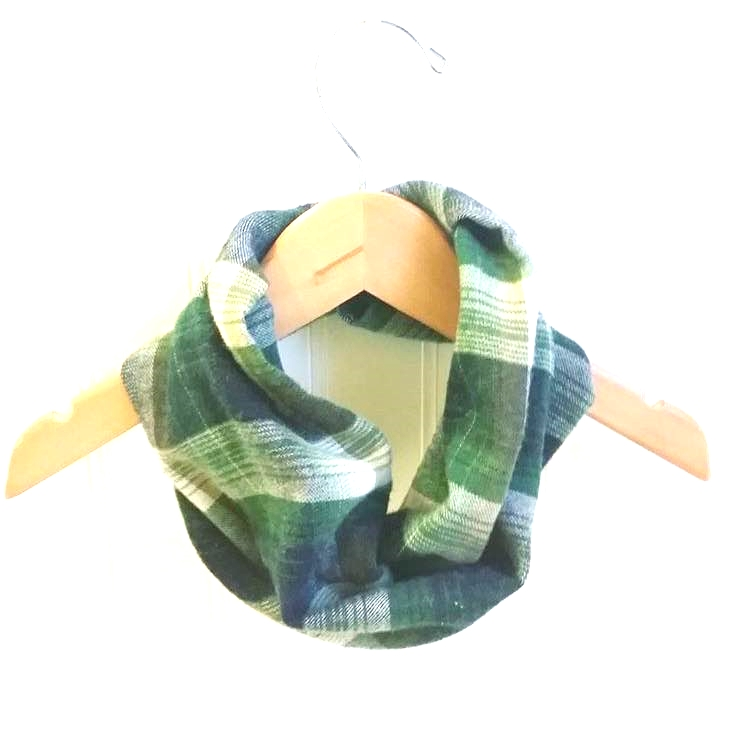Dapper Jack Boutique Plaid Infinity Scarf