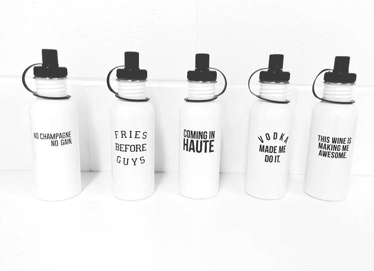 BITNB Clothing Water Bottles