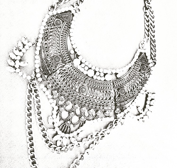 "Mirina Collections  ""Riley"" design necklace"