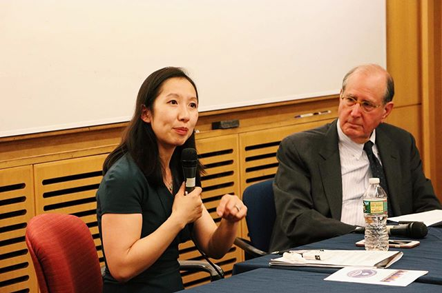 Congratulations to Dr. Leana Wen on her recent appointment as President of @plannedparenthood ! Here she is as one of the keynote speakers at our 9th Annual Undergraduate Conference in Public Health back in April, in conversation with former dean of @johnshopkinssph Dr. Alfred Sommer.  If you're interested in helping organize events like this one, and raising awareness of public health on campus and beyond, 👉 APPLY BY TONIGHT to join PHSF!!!!! Application link and details can be found on our website: jhuphsf.org