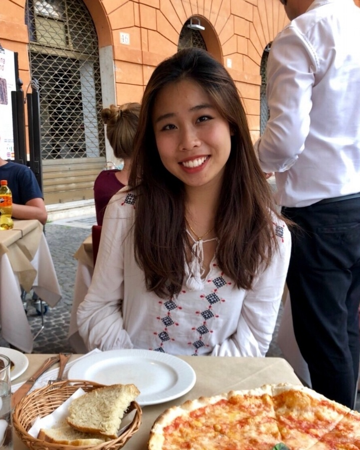 Sandra Hong '20   Co-President  Sandra is a junior from Portland. She's involved with Club Tennis, Best Buddies, and loves going on adventures and eating good food. Her favorite spot on campus is The Beach!
