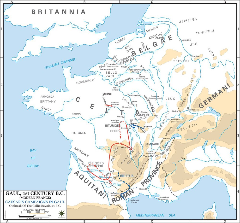 MAP Caesar Gaul Revolts of 54 BC  Book Five V gallic_revolt_outbreak.jpg