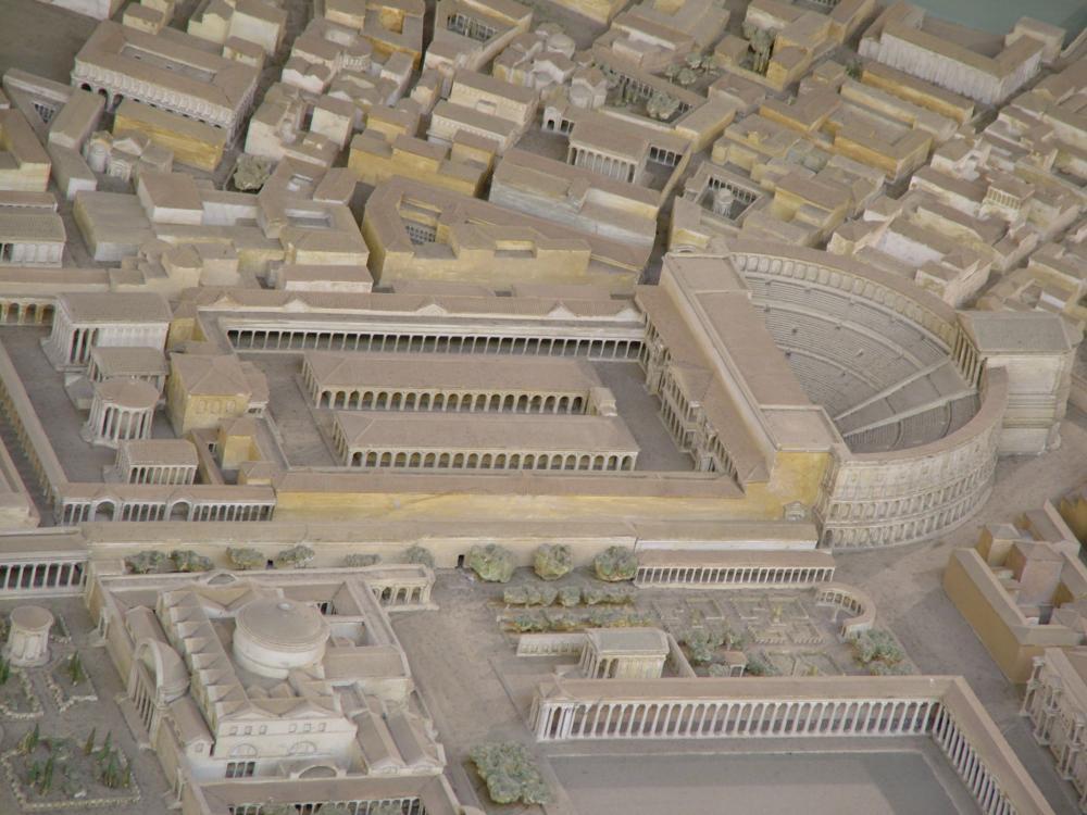 Roman Theater - The Theater of Pompeius Magnus