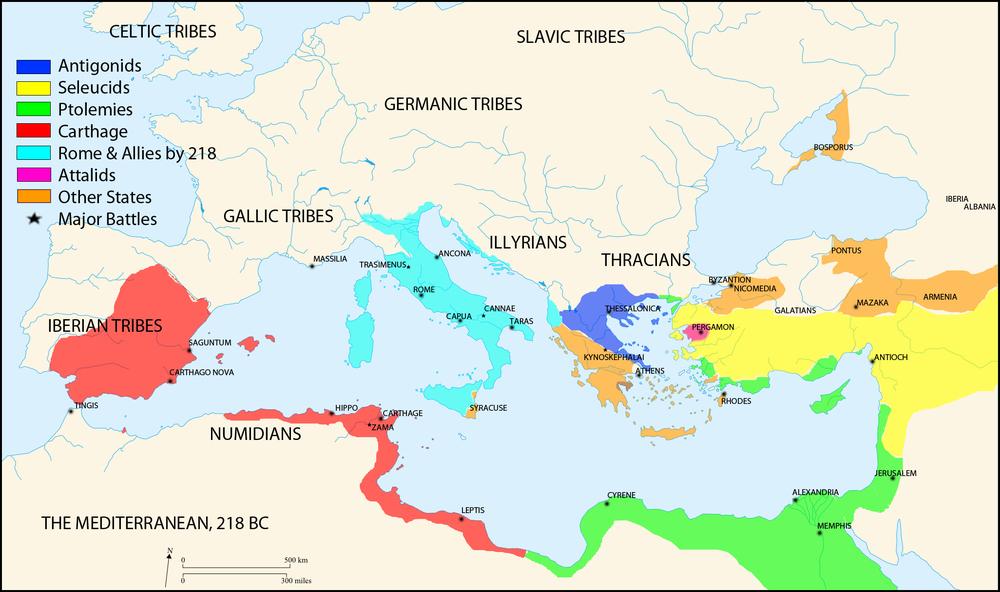 218BC MAP MEDITERRANEAN Punic Wars.jpg