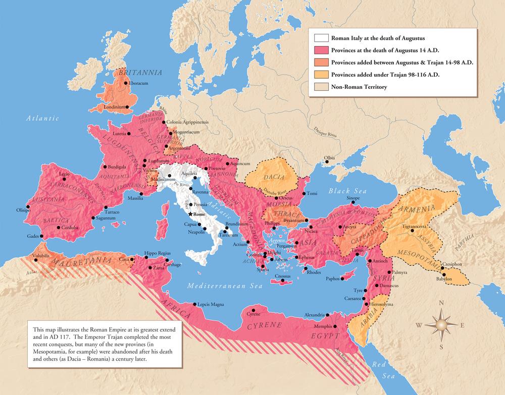 Empire Map Roman greatest extent trajan 117.jpg
