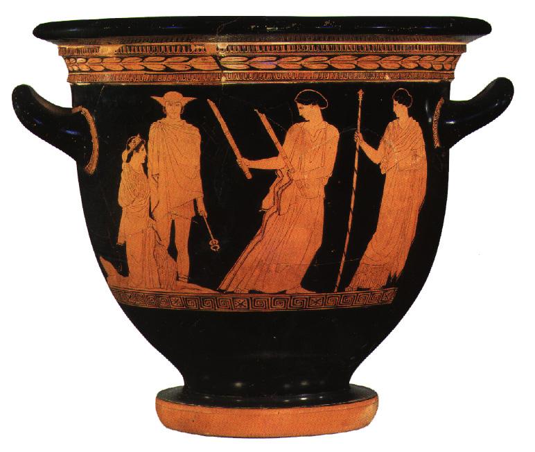 Proserpina, Mercurius, Ceres