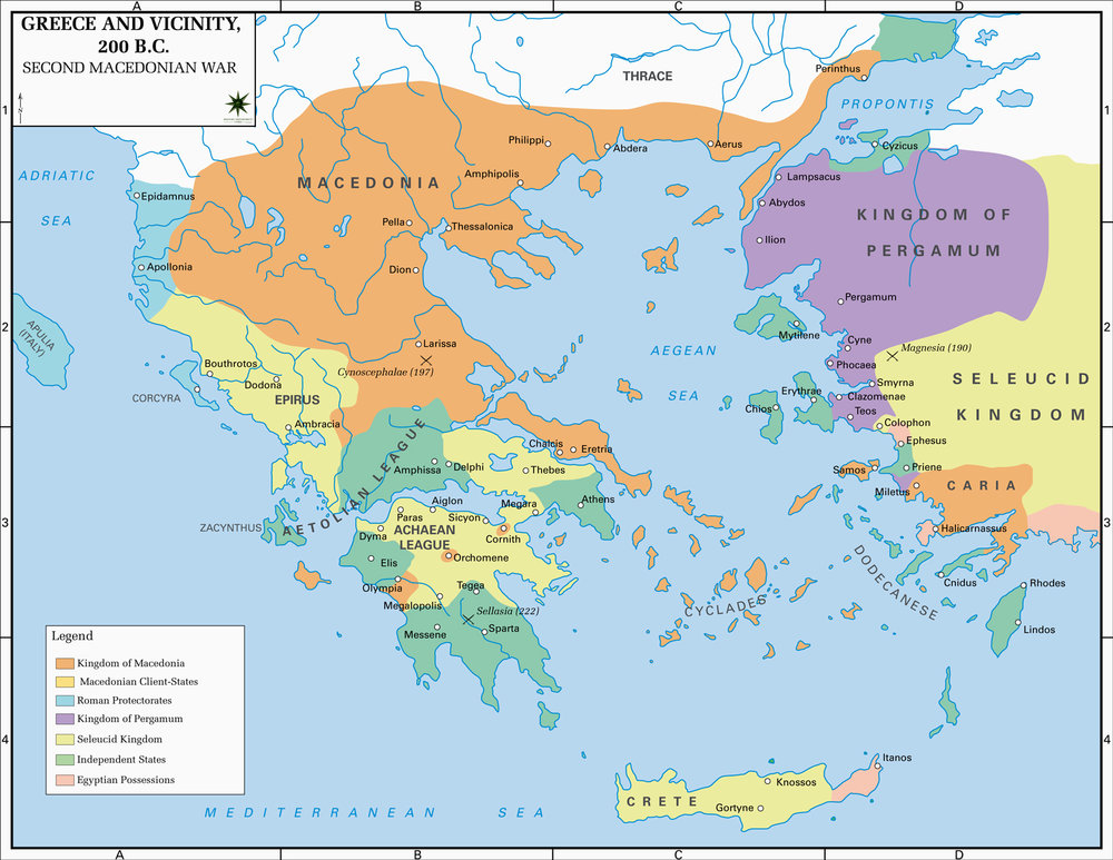 Map of Greece around 200 BC second_macedonian_war.jpg