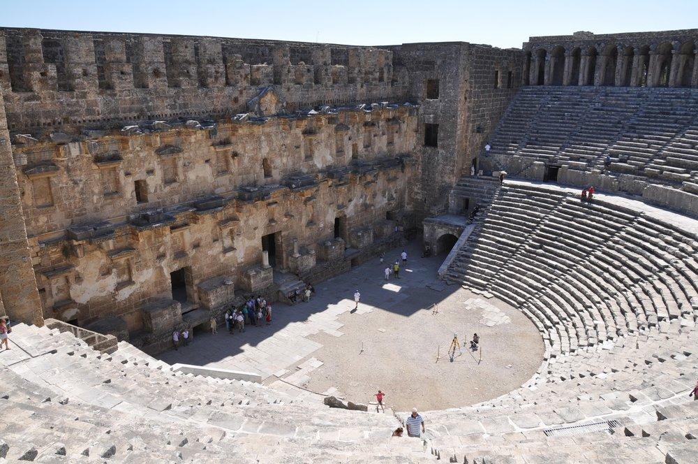 Roman Theater at Aspendos, Turkey
