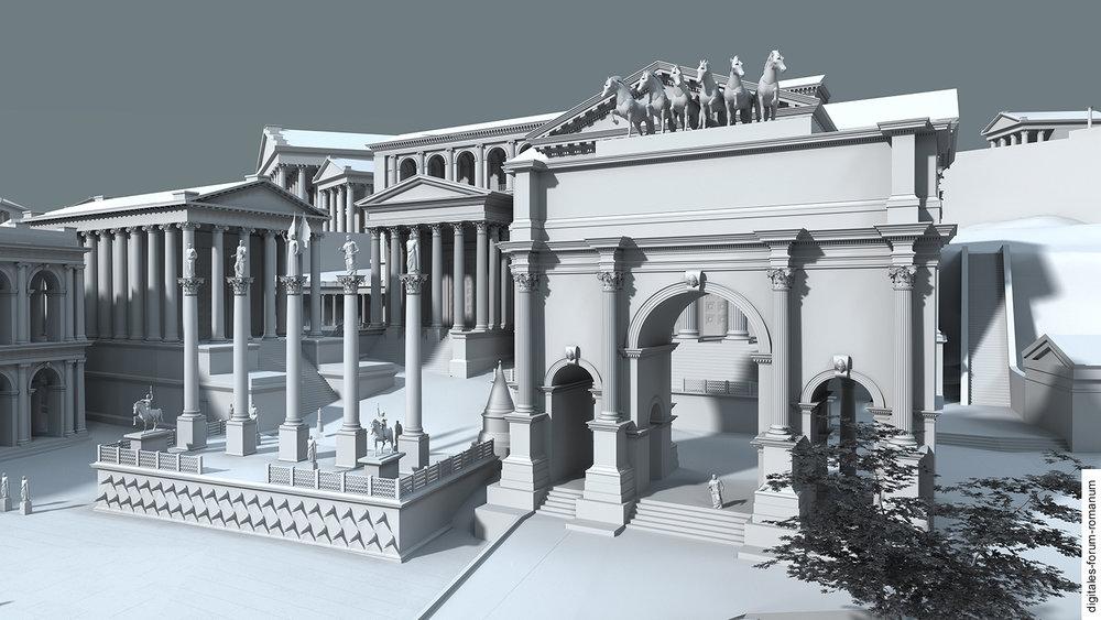 forum romanum with arch of septimus severus.jpg