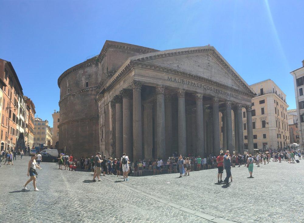 Pantheon, Campus Martius, Rome