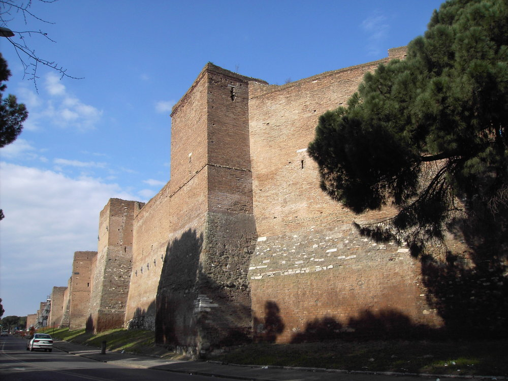 Rome's Aurelian Walls, late 3rd Century AD.