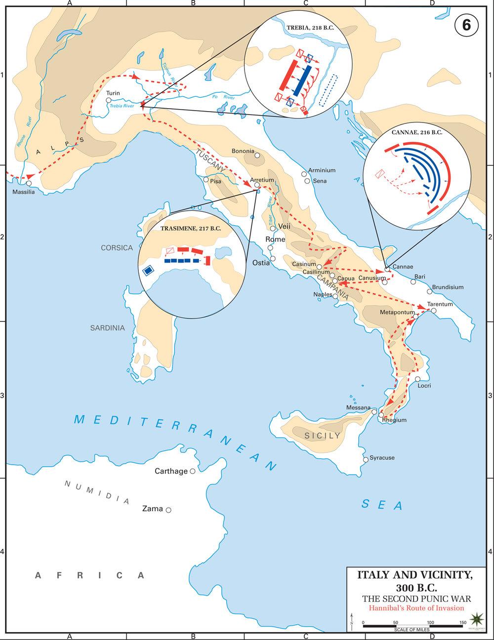 2nd punic war second hannbal italy map .jpg