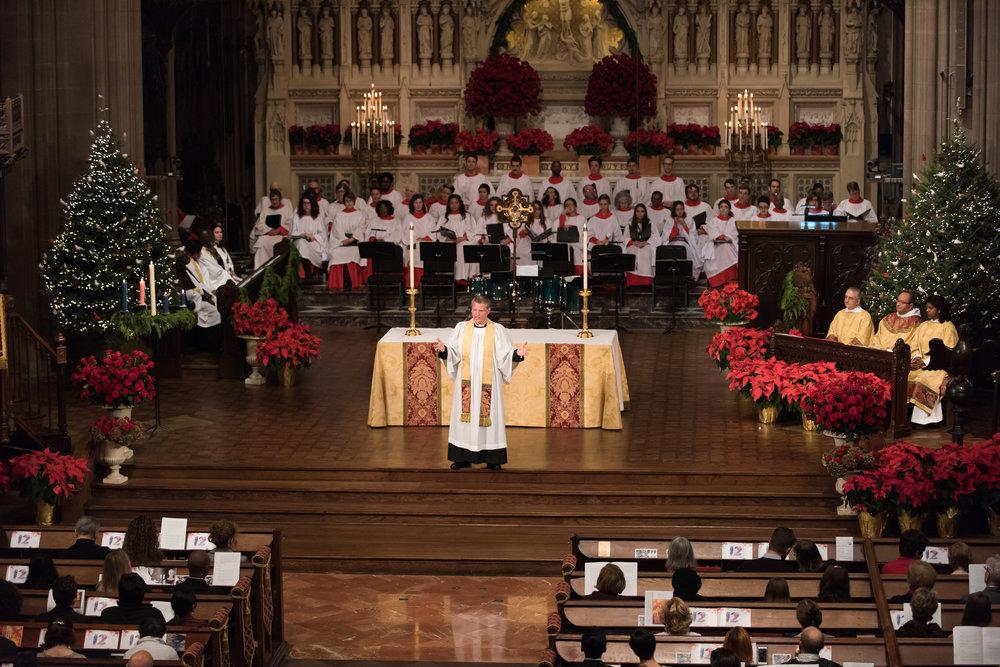 Christmas at Trinity Church, Wall Street - NBC — Interfaith ...
