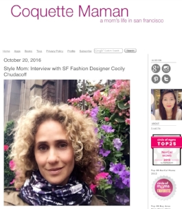 Coquette Maman Feature! Shop for the Eggplant Plaid Luxury Circle Scarf here!