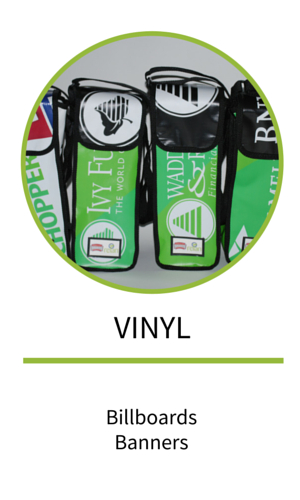 Fan engagement products made from repurposed vinyl