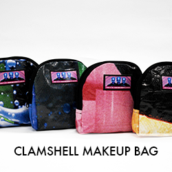 Clamshell Makeup Bag