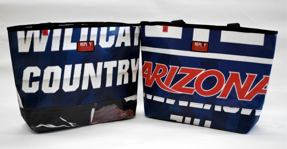 University of Arizona tote bags