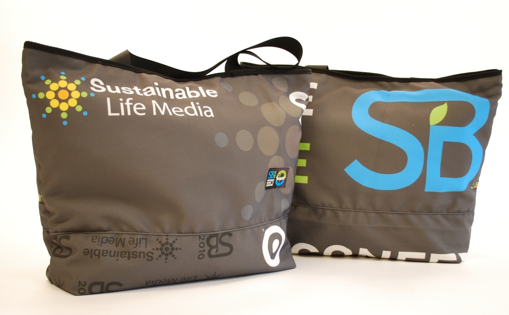 Sustainable Life Media Tote Bags