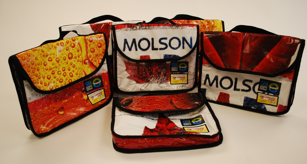 Molson Coors Sustainable Messenger Bags