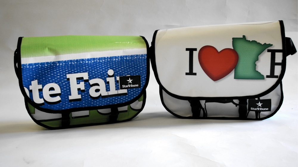 Minnesota State Fair messenger bags