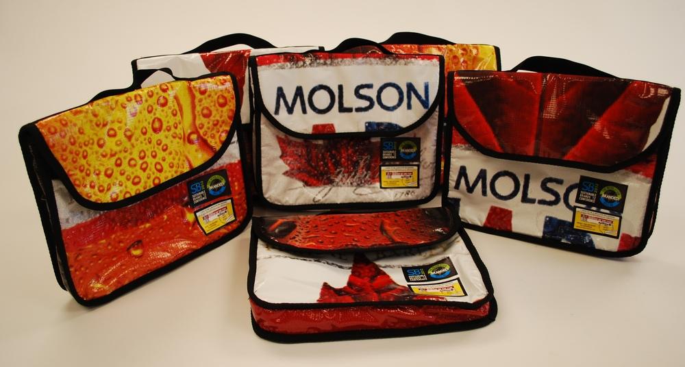 Molson Coors Messenger Bags