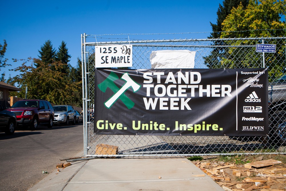 Portland Timbers Stand Together Week