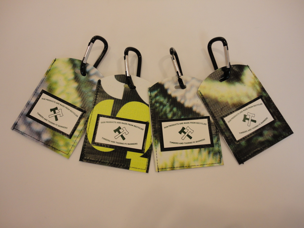 Portland Timbers Bag Tags
