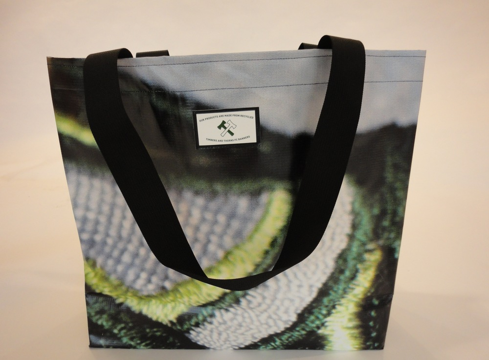Portland Timbers Repurposed Tote