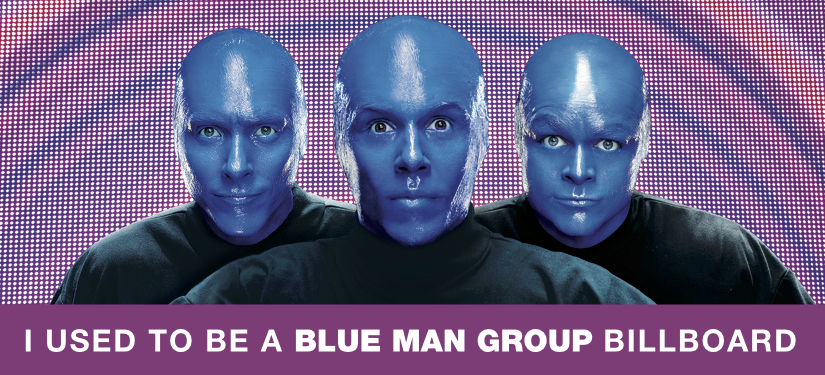 Blue Man Group Vegas Label