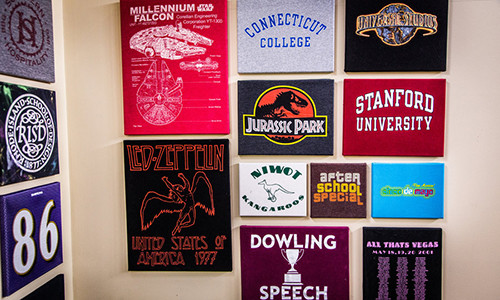 T Shirt Canvas wall art