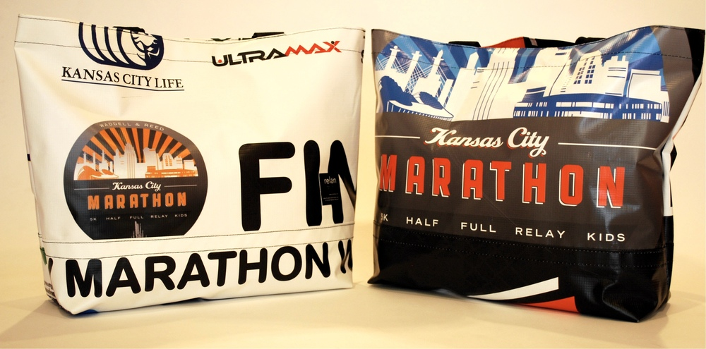 Kansas City Marathon Tote Bags
