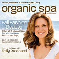 Relan featured in Organic Spa Magazine