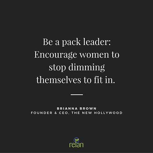 Brianna Brown quote from SBCLA women game changers event