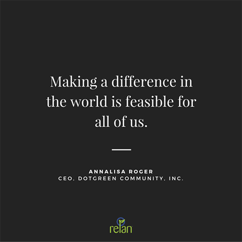 Annalisa Roger quote from SBCLA women game changers event