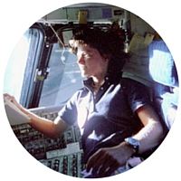 Sally Ride, first American woman to fly in space