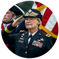Gen. Ann E. Dunwoody, first female four-star general in Army